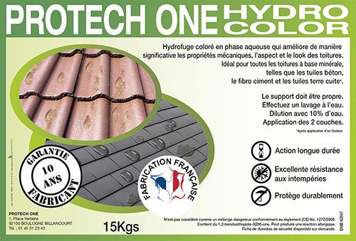 Produit professionnel hydrofuge pour toiture
